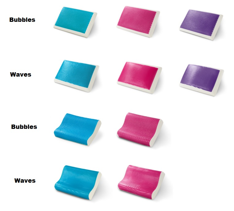 Different Types of Hydraluxe Pillow