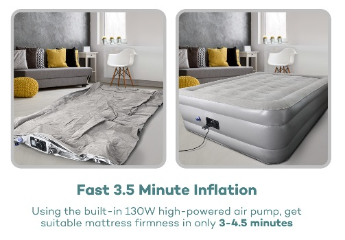 Sable Air Mattress Inflation