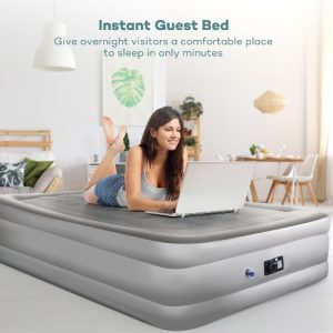 Sable Air Mattress with Built in Electric Pump